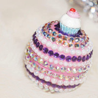 CupCake Eos Lip Balm CRYSTALLIZED™ with Swarovski Rhinestones