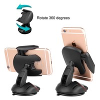 Universal Phone Mount Holder + Car Windshield Stand