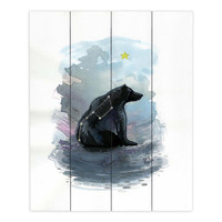 DiaNocheDesigns Ursa Major by Aja Ann Painting Print Plaque