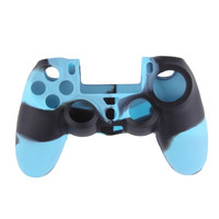 Cool Camouflage Soft Silicone Cover Case Protection Skin for Sony Playstation 4 PS4 Dualshock 4 Controller