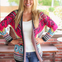 Pinking Out Loud Cardigan
