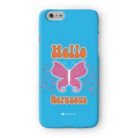 Sassy - Hello Gorgeous #10433 Full Wrap 3D Printed Case  for Apple iPhone 6 by Sassy Slang