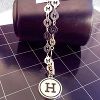 Hermes New fashion H letter couple necklace accessories