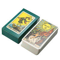 New Tarot Cards Deck Vintage Antique High Quality Colorful Card Box Game 78 Card