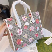 Gucci old flower shopping bag