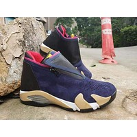Jordan Jumpman Z Navy inspired by the Air Jordan 14 - Best Deal Online