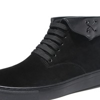 Mens Casual Winter Ankle Suede Boots