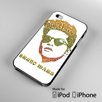 Bruno Mars iPhone 4 4S 5 5S 5C 6, iPod Touch 4 5 Cases