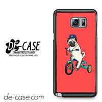 Pug Bicycle For Samsung Galaxy Note 5 Case Phone Case Gift Present