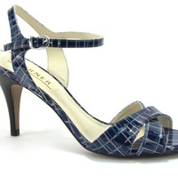 Sandal Medium Heel Blue - Werner