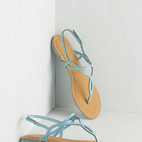 Know Only Too Swell Sandal in Sky by ModCloth