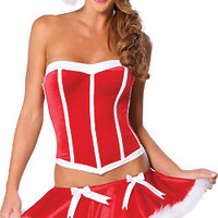 Women's Christmas Fancy Suit Costume Xmas Outfit = 4427586180