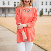 Magical Muse Top, Coral