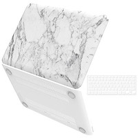 MightySkins Protective Vinyl Skin Decal for HP Chromebook 14 (2014) wrap cover sticker skins White Marble