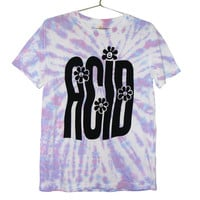 Stretched out Acid Rave Tie Dye T-shirt(ATTN: notate SIZE during checkout)
