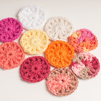 Face Scrubbies, Multi Pack, USA Grown Cotton , US Shipping Included, Made to Order, Custom