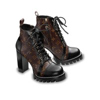 ABKUYOU Louis Vuitton Star Trail Ankle Boot