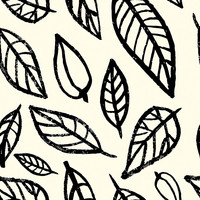 Linear Leaf Removable Wallpaper