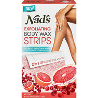 Nads Natural Online Only Exfoliating Hair Removal Strips