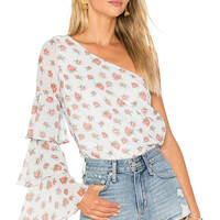 Lovers + Friends x REVOLVE Ivy Top in Ditsy Floral   REVOLVE
