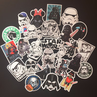 25 pcs Mixed STAR WARS hit stickers for kids Home decor jdm on laptop sticker decal notebook skin skateboard doodle stickers toy