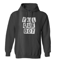 fall out boy flower white Mens Hoodie and Womens Hoodie