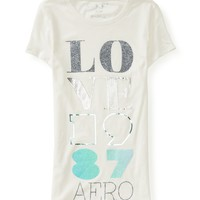 Love 1987 Aero Sparkle Graphic T
