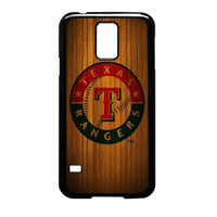 Texas Rangers Wood Pattern Samsung Galaxy S5 Case