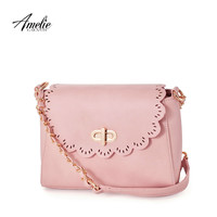 AmelieGalanti 2016 woman bolsos chain bags women leather shoulder bags handbags women famous brands ladies hand bags hollow out