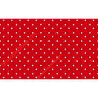 Red And White Stars Retro Pattern Face Mask