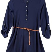 Living Doll L.A. Juniors Belted Tunic Top | Bealls Florida