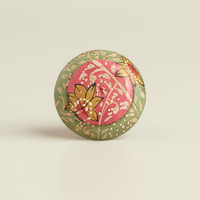Pink and Green Floral Wood Knobs, Set of 2 - World Market