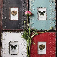 Embossed Metal Picture Frame