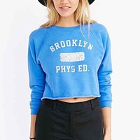 Prince Peter Brooklyn Track Sweatshirt- Sky