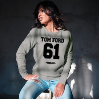 TOM FORD Unisex Crew Neck Sweatshirt