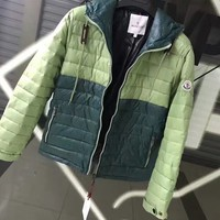 Moncler winter thick cotton clothing / green