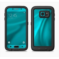 The Turquoise Highlighted Swirl Full Body Samsung Galaxy S6 LifeProof Fre Case Skin Kit