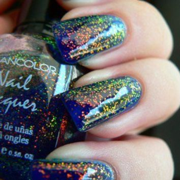 Kleancolor CHUNKY HOLO BLUEBELL Nail Polish FREE SHIPPING by Lucky 13 Boutique