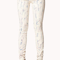 Life In Progress™ Abstract Skinny Jeans