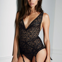 Lace Plunge Merrywidow - Very Sexy - Victoria's Secret