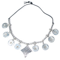 Vanessa Mooney The Outlaw Necklace Silver One