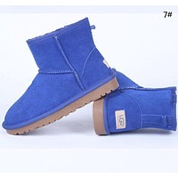 """UGG"" Fashion New Male More Color Women Wool Snow Boots Shoes"
