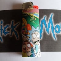 Rick and Morty Lighters