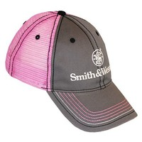 Smith & Wesson Pink Mesh Back Cap - Sheplers