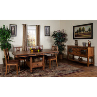 Sunny Designs Sedona Collection Seven Piece Dining Set 1424