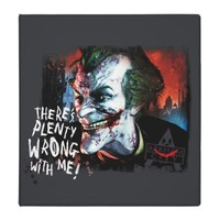 Joker - There's Plenty Wrong With Me! 3 Ring Binder from Zazzle.com