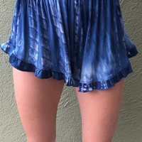 Happy Daze Shorts- Blue