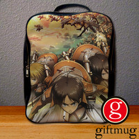 Attack of Titans Trainees Squad Backpack for Student