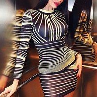 Balmain Inspired Rope Dress