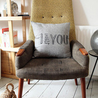 I Adore YOU Cushion Cover By Karin Akesson